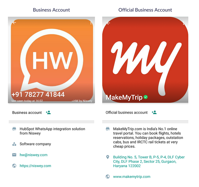 Business Account API