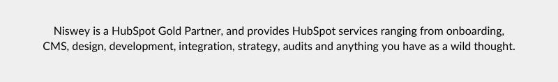 hubspot audit