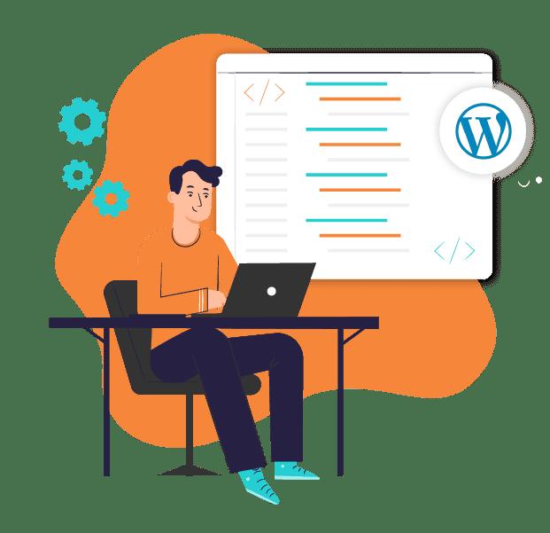 wordpress developer job